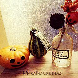 玄関/入り口/Halloween飾りのインテリア実例 - 2014-10-13 17:28:07