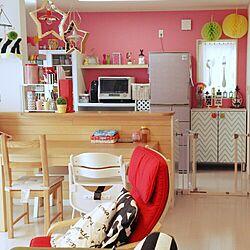 キッチン/カラフルな部屋/IKEAがたくさん♪/大人可愛いを目指す。のインテリア実例 - 2015-02-26 12:03:07