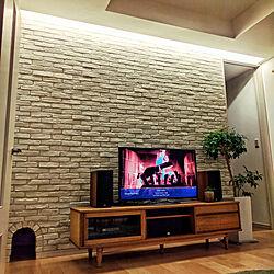 リビング/オーディオ/TVボード/観葉植物/ベンジャミンバロック...などのインテリア実例 - 2017-10-09 22:51:53