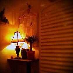 ベッド周り/relax time/雑貨/アンティーク/植物...などのインテリア実例 - 2013-03-27 22:30:31