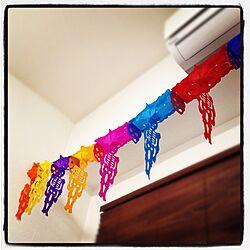壁/天井/DIY/mexico/calaveraのインテリア実例 - 2013-02-05 10:51:56