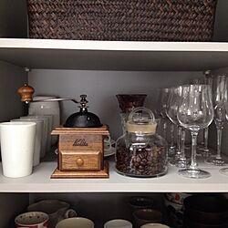 キッチン/コーヒーミル/キャニスターのインテリア実例 - 2013-05-18 08:37:55