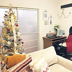 部屋全体/100均/HOME/christmas tree/ニトリ...などのインテリア実例 - 2018-11-12 18:28:36
