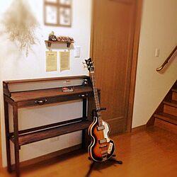 部屋全体/楽器/DIY机/ベースのインテリア実例 - 2013-09-25 17:59:59