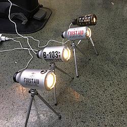 リビング/アルミ缶/男前/ダイソー/LED電球...などのインテリア実例 - 2018-01-17 16:38:21
