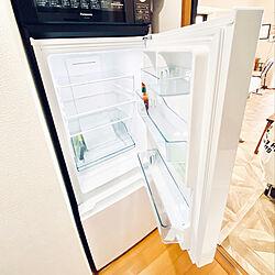狭いキッチン/冷蔵庫/ひとり暮らし 1K/一人暮らし/1K...などのインテリア実例 - 2020-08-08 16:06:50