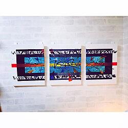 壁/天井/一人暮らし/デスク/観葉植物/ポスター...などのインテリア実例 - 2018-11-07 18:40:17