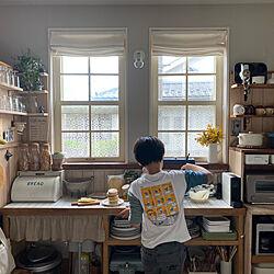 格子窓DIY/DIY/末っ子/雑貨/キッチン雑貨...などのインテリア実例 - 2021-04-29 20:20:33