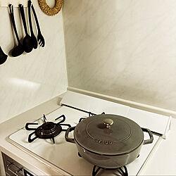 タカラスタンダード キッチン/ストウブ ブレイザー/男前/モノトーン/キッチンのインテリア実例 - 2020-05-30 16:24:11