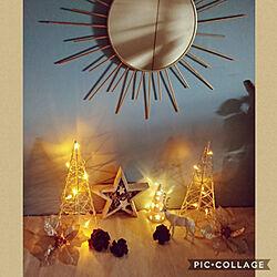棚/クリスマス/いつもいいねやコメありがとうございます♡/カメラマーク消しのインテリア実例 - 2020-11-17 21:37:03