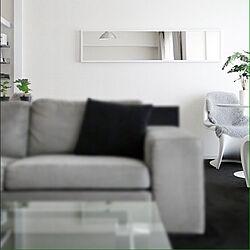 部屋全体/白黒/モノトーンの部屋/モノトーン/シンプル...などのインテリア実例 - 2013-11-28 17:23:00