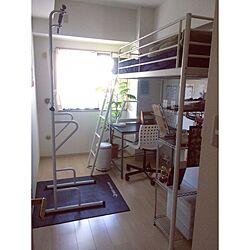 ベッド周り/ロフトベッド/子供部屋/男子部屋/IKEA...などのインテリア実例 - 2017-05-26 11:06:43