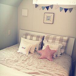 ベッド周り/ZARA HOME/IKEA/salut!/フランフランのインテリア実例 - 2015-08-27 13:41:56