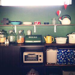 キッチン/収納/DIY 棚/イッタラ/ティーマ...などのインテリア実例 - 2014-12-15 20:50:42
