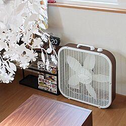 ベッド周り/扇風機/ボックスファンのインテリア実例 - 2012-05-26 22:45:11