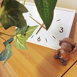 棚/ひさびさの投稿/ダイニング/陶器の置物/家族で暮らす...などのインテリア実例 - 2017-08-24 07:04:20