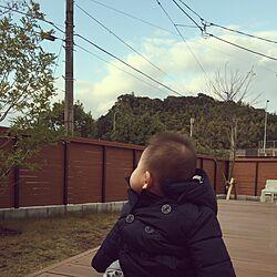 赤ちゃんのいる暮らし/縁側ウッドデッキ/緑のある暮らし/ウッドデッキのインテリア実例 - 2016-12-15 11:28:28