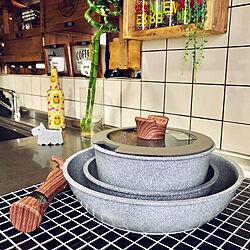 キッチン/二男くん/着脱式/5点セット/息子LOVE❤️...などのインテリア実例 - 2018-09-02 16:36:01