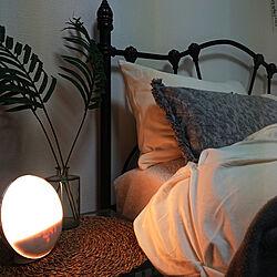 ベッド周り/一人暮らし/おひさま目覚まし時計のインテリア実例 - 2020-01-20 23:12:33