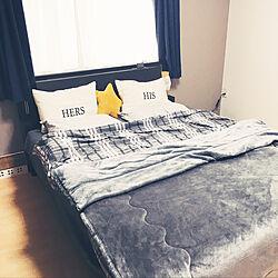 ベッド周り/KEYUCA/ニトリ/ベッドルーム/シンプルが好き...などのインテリア実例 - 2018-01-25 15:11:49