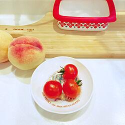 こあま/ミニトマト収穫/家庭菜園/お庭のある暮らし/こどもと暮らす...などのインテリア実例 - 2020-06-23 08:04:17