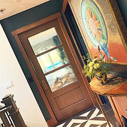 階段手すり/わが家のドア/わたしのDIY&リメイクアイデア/アンティーク/DIY...などのインテリア実例 - 2020-10-09 09:22:00