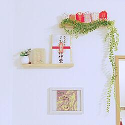 神棚DIY/神棚もどき/神棚/お守り/お守り置き...などのインテリア実例 - 2019-12-27 07:13:03