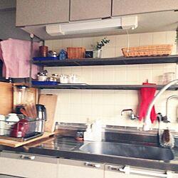 キッチン/社宅/転勤族/団地/築30年超...などのインテリア実例 - 2015-01-18 16:55:23
