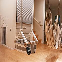 リビング/室内ブランコ/IKEA/DIY/モノトーン...などのインテリア実例 - 2018-09-06 23:22:58