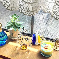 リビングの出窓/RCの出会いに感謝♡/カラフル好き/シンプルな暮らし/みて頂き有難うございます(^^)...などのインテリア実例 - 2020-07-20 11:24:21