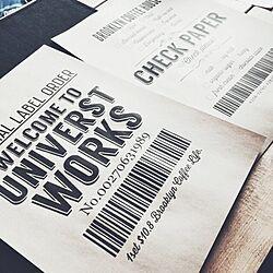 フリーフォント/自作ポスター/ポスター/UNIVERSTWORKS/MAACOO/男前雑貨...などのインテリア実例 - 2017-03-07 17:50:46