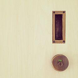 真鍮/ドアノブ/ドア/塗装のインテリア実例 - 2016-04-18 16:53:55