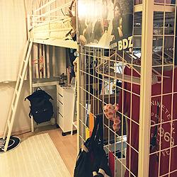 ロフトベット/狭い部屋 /IKEA/ベッド周りのインテリア実例 - 2019-02-27 23:34:18