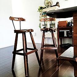 キッチン/椅子/観葉植物/猫/ケビント...などのインテリア実例 - 2021-06-10 08:43:45