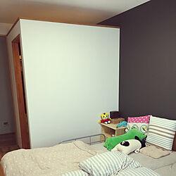 ベッド周り/ウォークインクローゼットのあるお部屋のインテリア実例 - 2018-06-27 23:11:49
