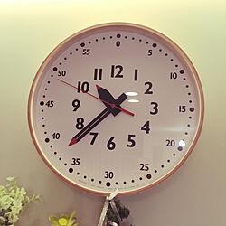 リビングの時計/RoomClipアンケート/リビングのインテリア実例 - 2019-12-06 22:36:16