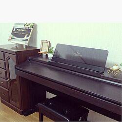 ピアノ/空き部屋/とりあえず部屋/使わない部屋のインテリア実例 - 2015-04-06 17:04:36