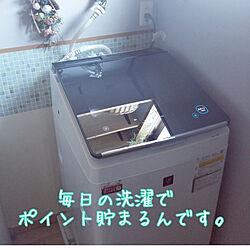 バス/トイレ/洗面所/シンプル/洗濯機/シャープ...などのインテリア実例 - 2020-02-08 17:46:07
