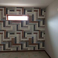 ベッド周り/壁紙/アクセントクロス/リクシルの窓/新築建築中...などのインテリア実例 - 2016-05-30 20:22:02