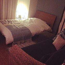 ベッド周り/お気に入り/アジアン/無印良品/クワイエットアワーズのインテリア実例 - 2014-03-30 10:16:09