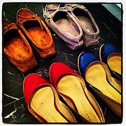 玄関/入り口/お気に入りの靴/浪費家の証のインテリア実例 - 2012-05-13 15:33:51