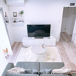 H&M HOME/ZARA HOME/ニトリ/シンプルインテリア/グレー×ホワイト...などのインテリア実例 - 2020-02-12 19:27:39