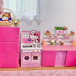 子供用キッチンつくりました♡/ダイソー/100均/DIYのインテリア実例 - 2020-07-22 12:08:48