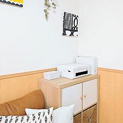 棚/賃貸マンション/ドライフラワー/無印良品/IKEAの棚のインテリア実例 - 2020-07-12 12:19:08