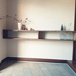 玄関/入り口/クリスマス/ニトリ/2019.11.4/クリスマスツリー...などのインテリア実例 - 2019-11-04 14:43:53