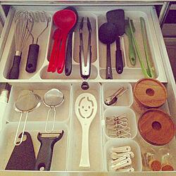 キッチン/調味料/調理道具/調理器具 収納のインテリア実例 - 2017-09-05 15:13:54
