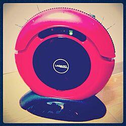 リビング/ロボットクリーナー/掃除機/赤い家具・家電/赤のインテリア実例 - 2012-12-11 04:56:32