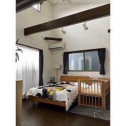 ベッド周り/IKEA/無印良品/カメラマークが出たので/ソニーモニター応募...などのインテリア実例 - 2016-10-31 12:25:05