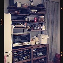 キッチン/関家具/無印良品/vitantonio/マフィン型...などのインテリア実例 - 2015-03-19 16:36:36