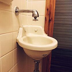 手洗い器/INAX/ヴィンテージ/バス/トイレのインテリア実例 - 2020-07-08 23:16:54